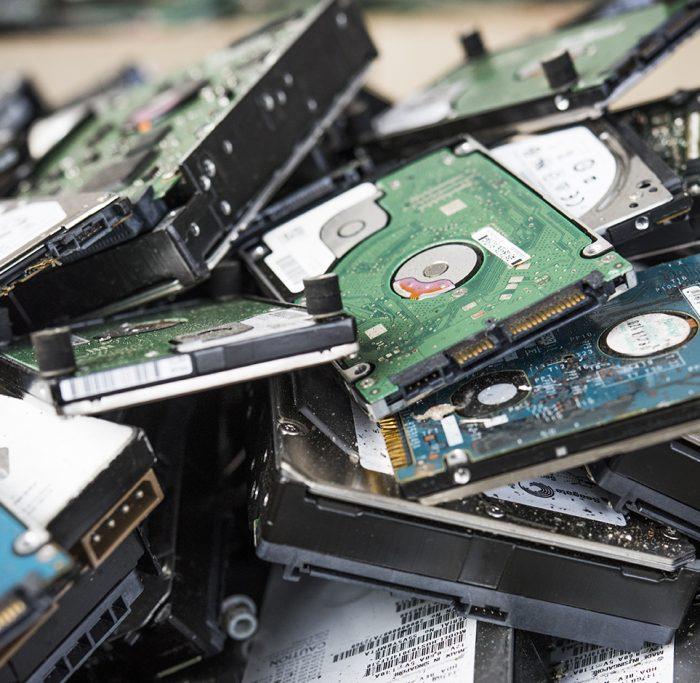 Paprec D3E, disque dur