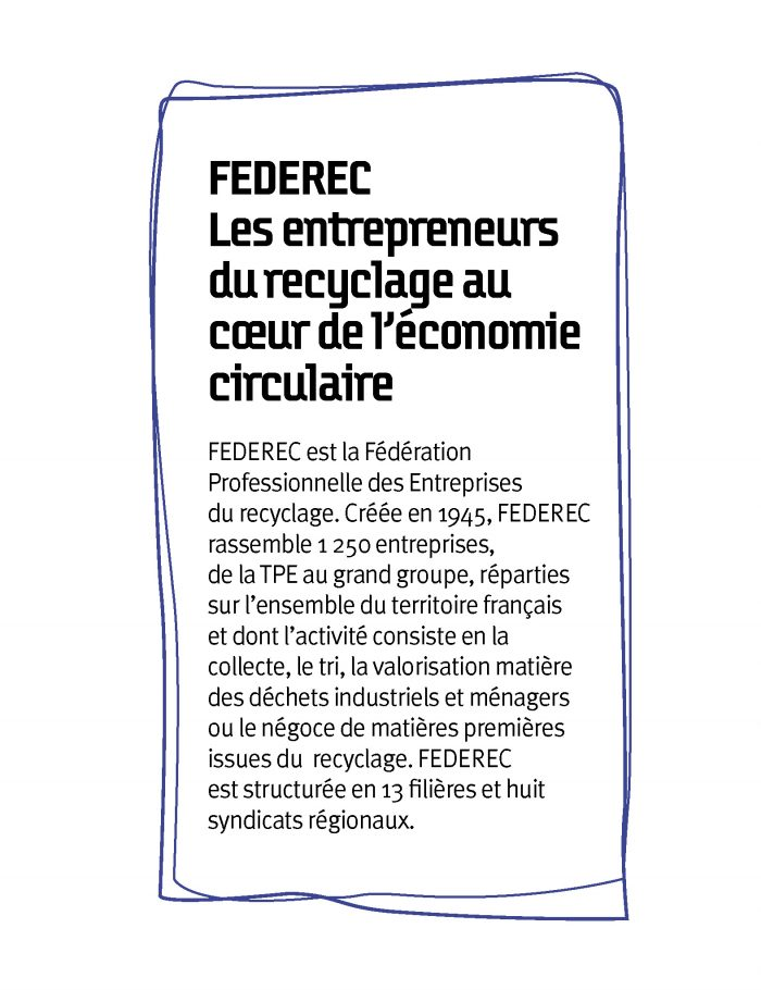 Federec, au coeur de l'économie circulaire