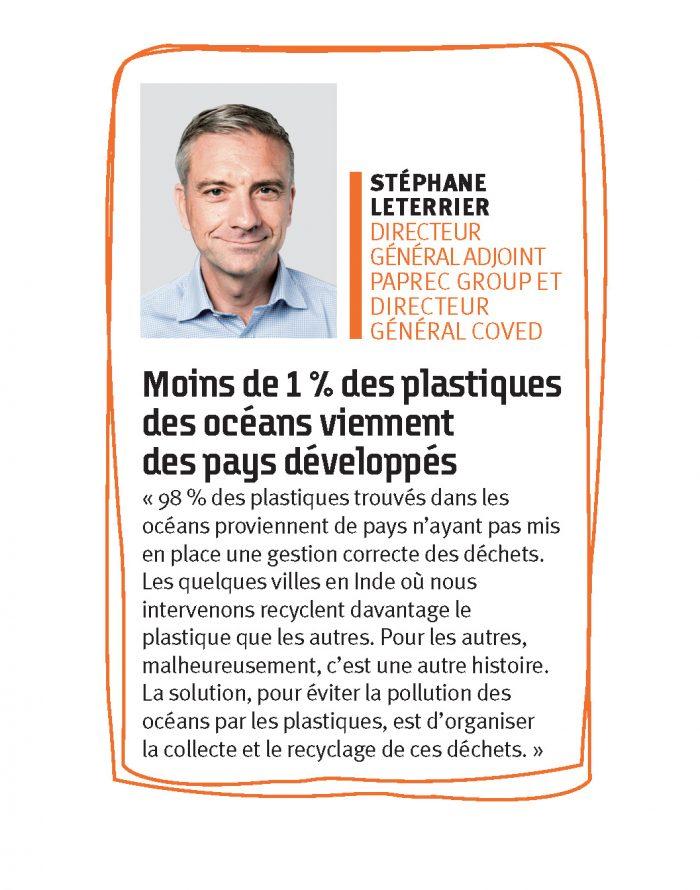 Stéphane Leterrier, directeur général adjoint de Paprec Group et directeur général de Coved