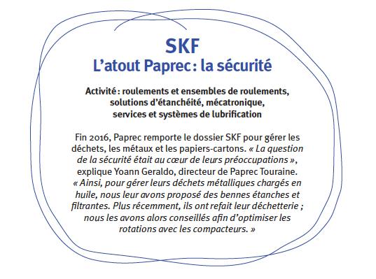 SKF fait confiance à Paprec