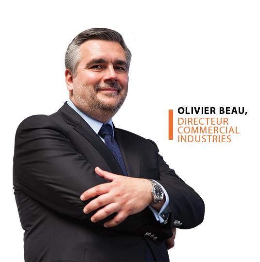 Olivier Beau, directeur commercial industries