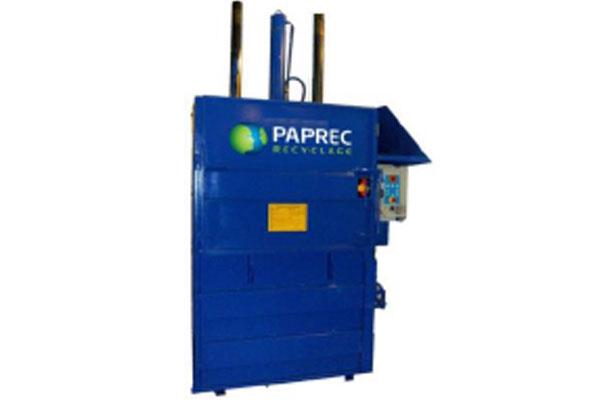 Paprec Recyclage - Presse verticale