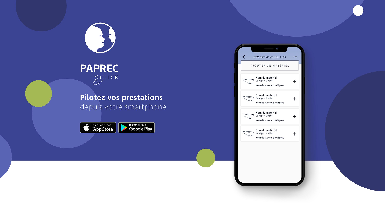 Image de présentation de Paprec&Click
