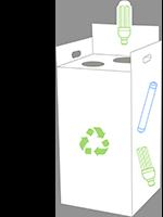Box de recyclage D3E