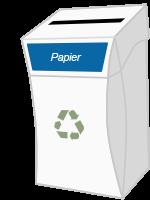 Box Easyrecyclage Papier