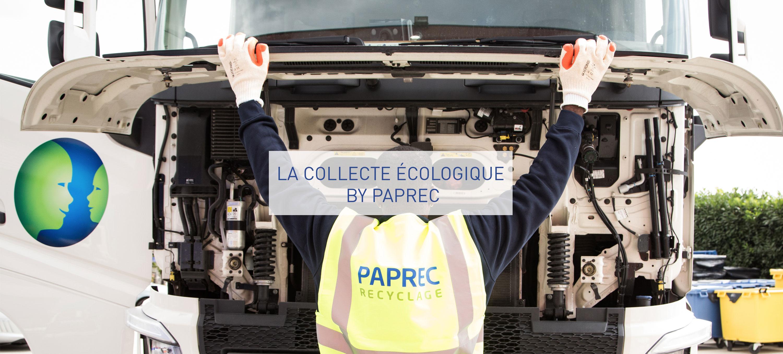 Les solutions de collecte écologique de Paprec Group