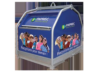 Collectez vos déchets dans nos bennes - Devis en 3min - Easyrecyclage.paprec.com  :My Paprec Solutions